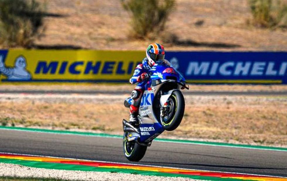 MotoGP: Álex Rins gana el Gran Premio de Aragón.