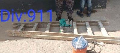 Villa Ángela: lo atraparon llevándose materiales de construcción.
