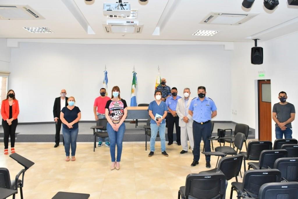 La Ministra de Salud llegó a Villa Angela para reforzar el trabajo sanitario por el aumento de casos de Coronavirus