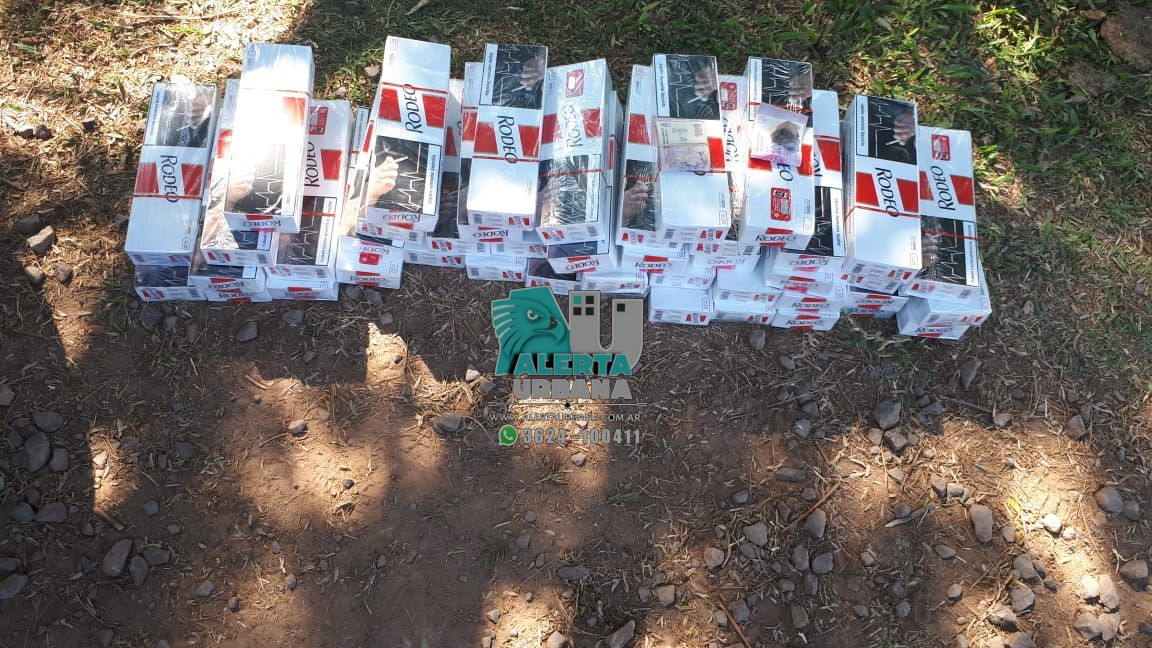 Resistencia: circulaban con 44 brezas de cigarrillo ilegal