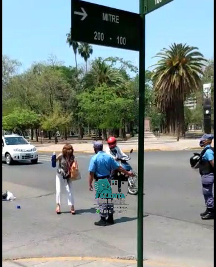 Resistencia: intentaba interrumpir el tránsito y amenazó a la policía