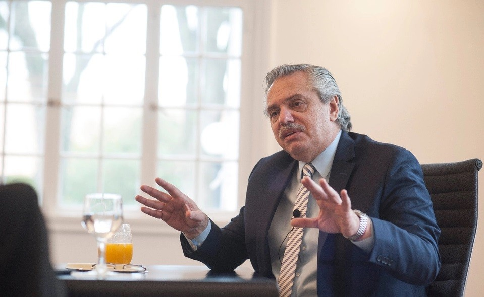 Alberto Fernández llamó a reconstruir la Unasur: