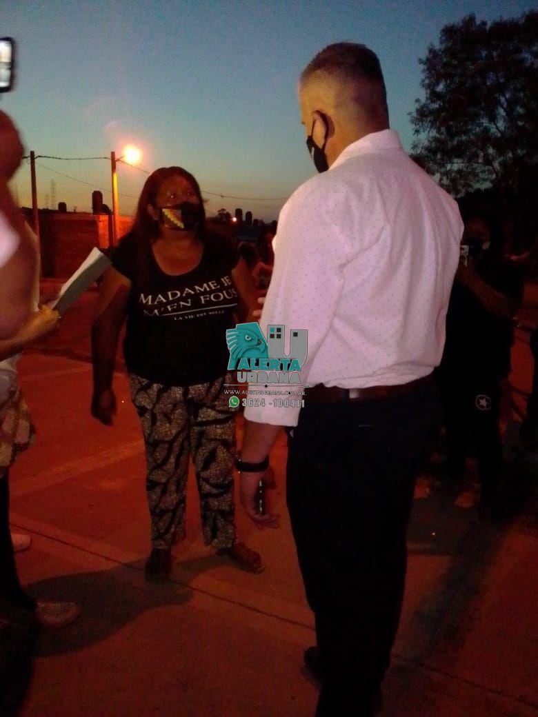 Vecinos del Barrio Gran Toba solicitaron la presencia del Subsecretario Olivello para exponer sus reclamos al Gobierno