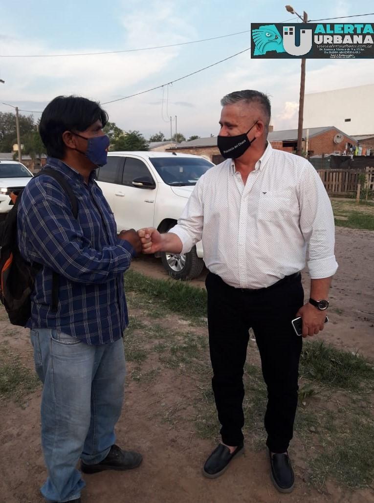 Vecinos autoconvocados del Gran Toba se reunieron con autoridades de Abordaje Territorial y de la Policía del Chaco.