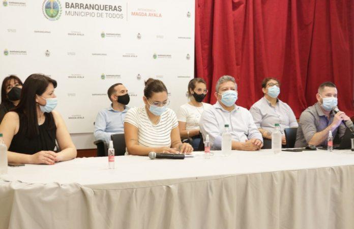 """""""Venimos a transformar a Barranqueras en una ciudad pujante y moderna"""", expresó la intendente Magda Ayala."""