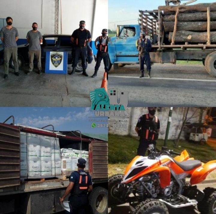 Saldo positivo: Secuestran un auto, algarrobo con guía vencida e intervienen cargas de granos y agroquímicos