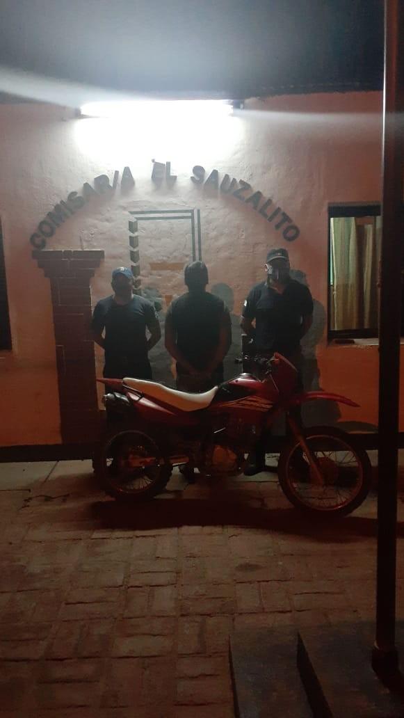 Recuperan en El Sauzalito una moto que era buscada desde el 2013 en Resistencia
