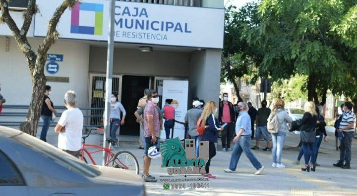 Allanamiento en la Caja Municipal de Resistencia