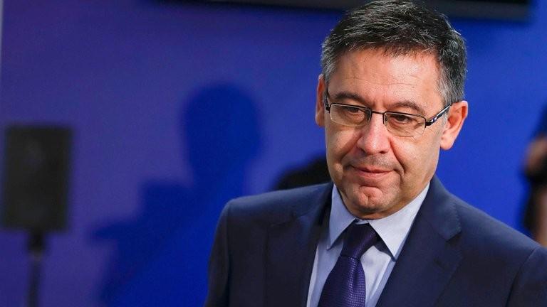 Josep Maria Bartomeu renunció como presidente del Barcelona