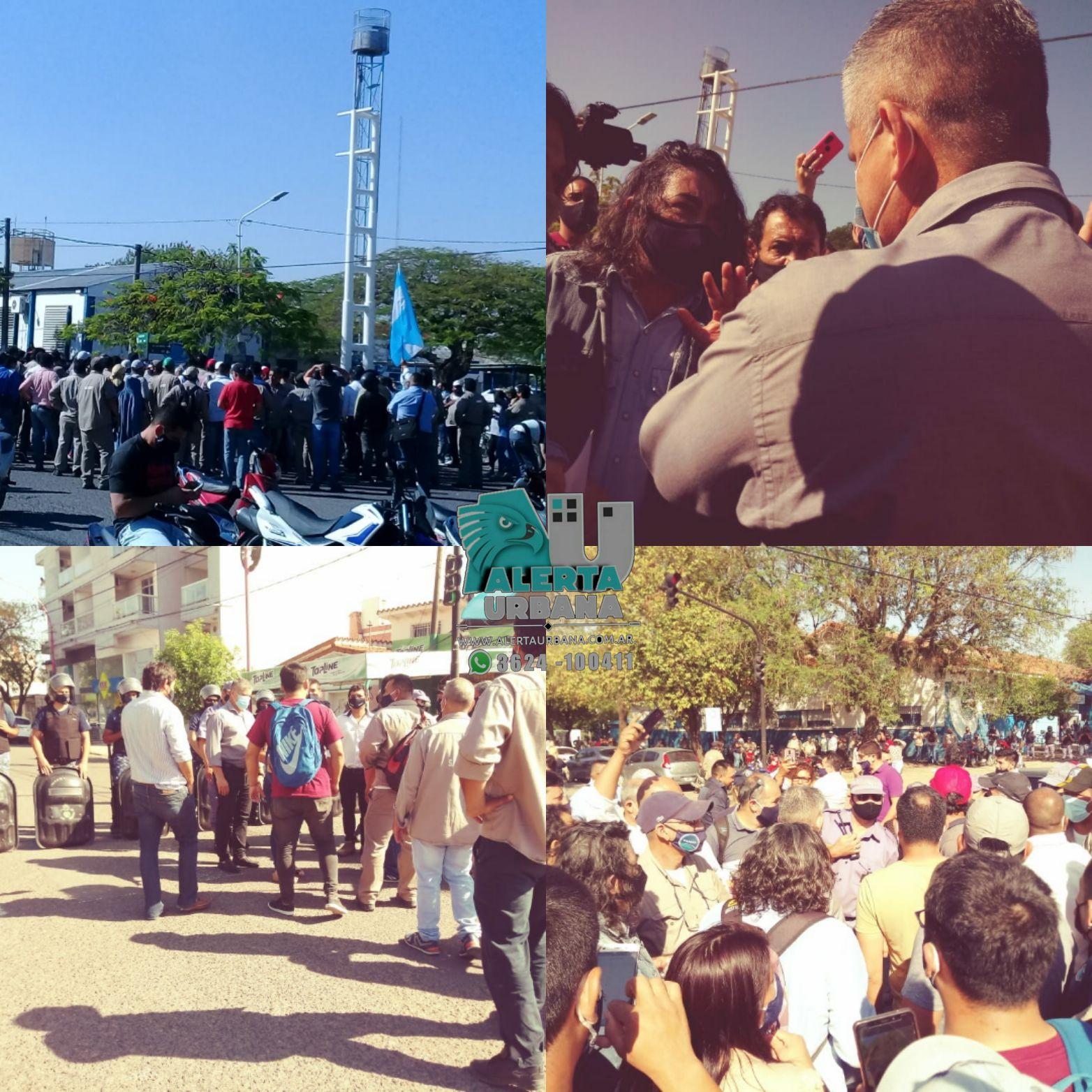 Resistencia: personal de Sameep reclaman mejoras laborales