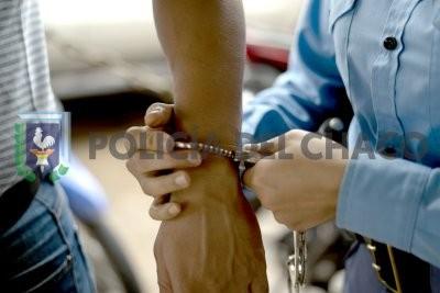 Robó unas vallas del municipio de Puerto Vilelas y fue detenido