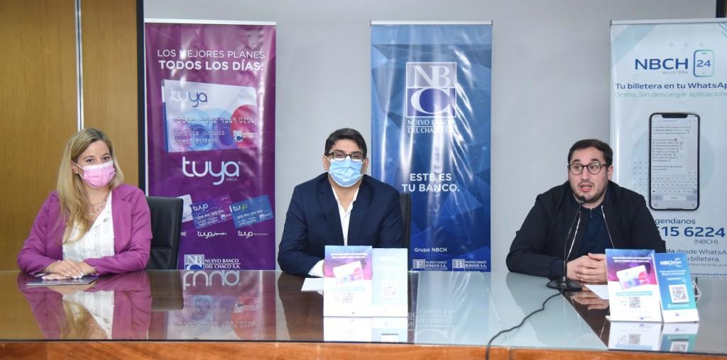 Promoción Superdías: Nuevo Banco del Chaco presentó beneficios con Tuya y Billetera NBCH24