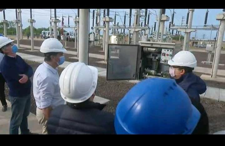 Zona Sur  Metropolitana: Inauguración de obra que mejorará la capacidad de producción de energía