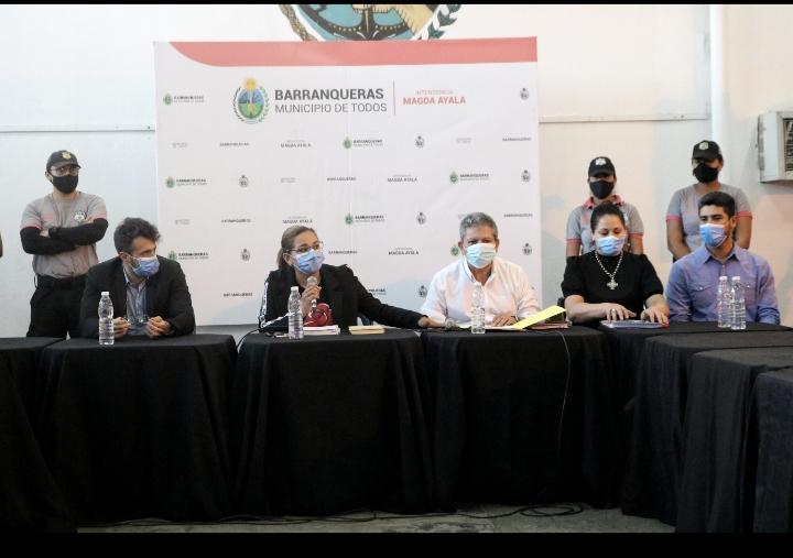 Reivindicación salarial para la familia municipal de Barranqueras