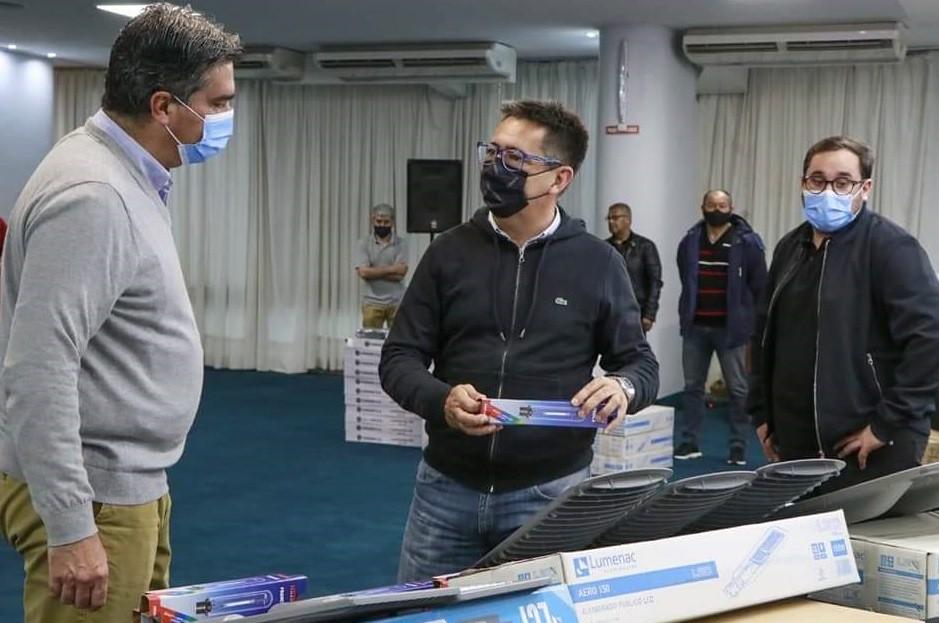Acuerdo entre el gobierno provincial y municipal para más iluminación en Resistencia