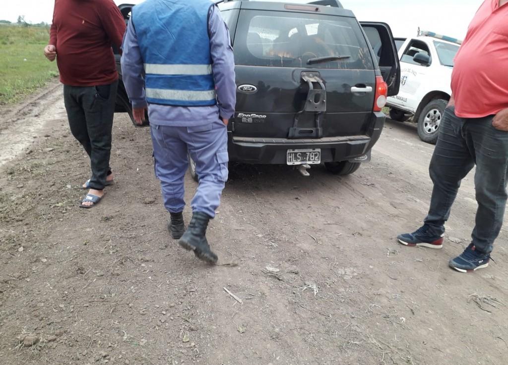 Makallé: circulaba con 32 cartones de cigarrillos, fueron secuestrados