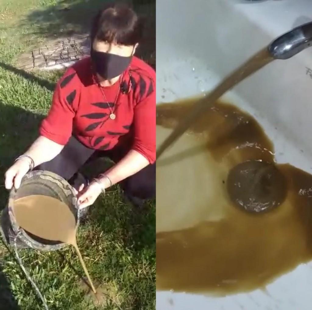 """El agua que se muestra en los videos """"no es la calidad habitual en Charadai"""""""