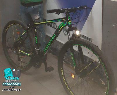 Comisaría Octava: Impiden que comercialicen una bicicleta robada