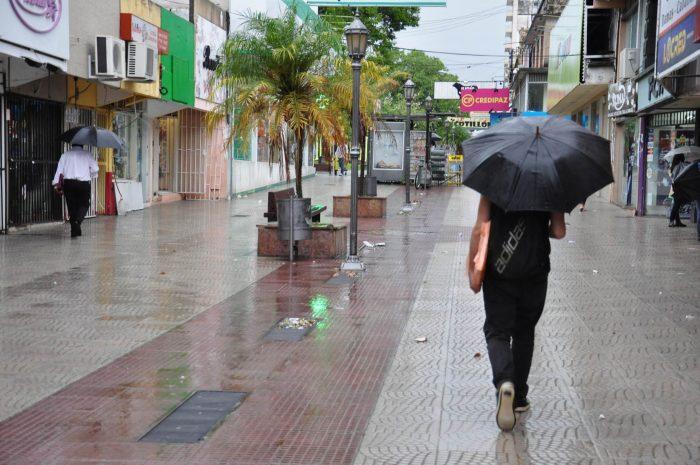 Muchos truenos pero solo cayó un milímetro de lluvia en Resistencia