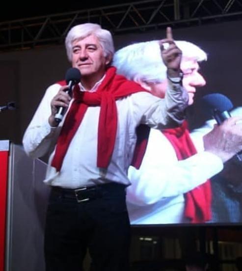 Sr. Juan Antonio Reschini, ex Intendente de Gral. Pinedo: