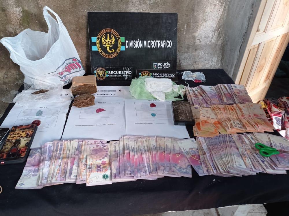 Resistencia: allanaron un bunker de drogas