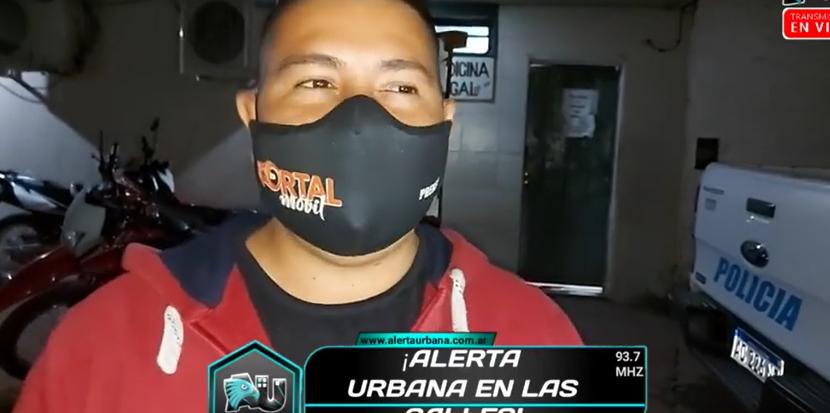 """Ezequiel Avalos: """"si intentan callarme con falsas acusaciones no lo van a lograr"""""""