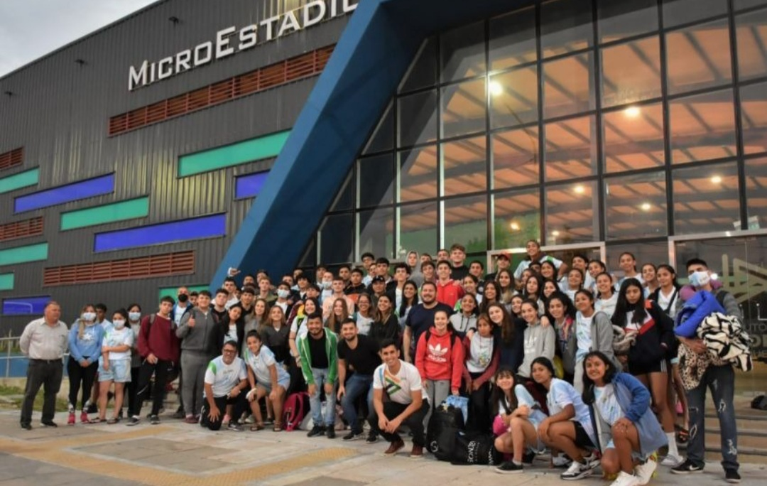Delegación chaqueña participa en La Rioja de los Juegos Deportivos de la Juventud del Norte Grande