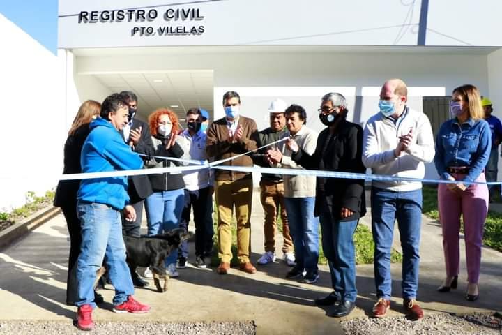Inauguración de las nuevas oficinas del Registro Civil de Puerto Vilelas