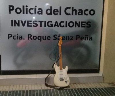 La policía recuperó una guitarra valuada en $30.000
