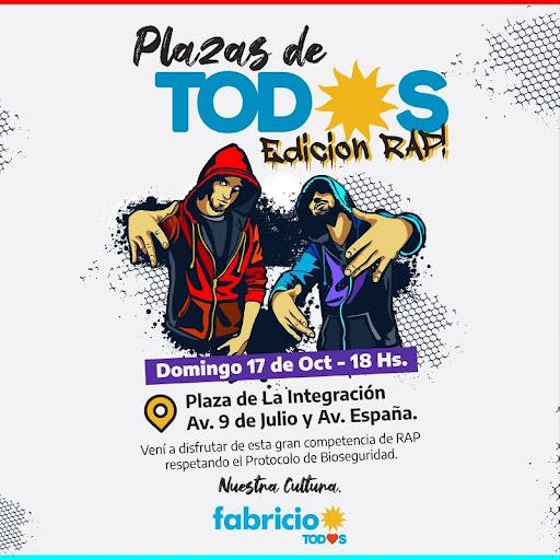 Este domingo será la segunda jornada de Plaza de Todxs con batalla de Freestyle
