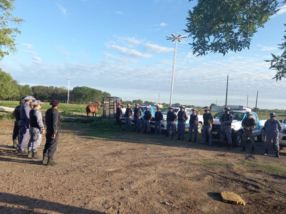 Machagai: Detenidos por llevar a cabo una carrera clandestina