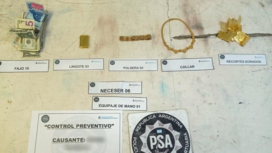 Una azafata fue procesada por contrabando