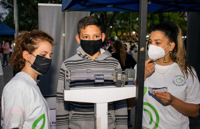 Desarrollo Social inició el Programa de Alimentación y hábitos sanos