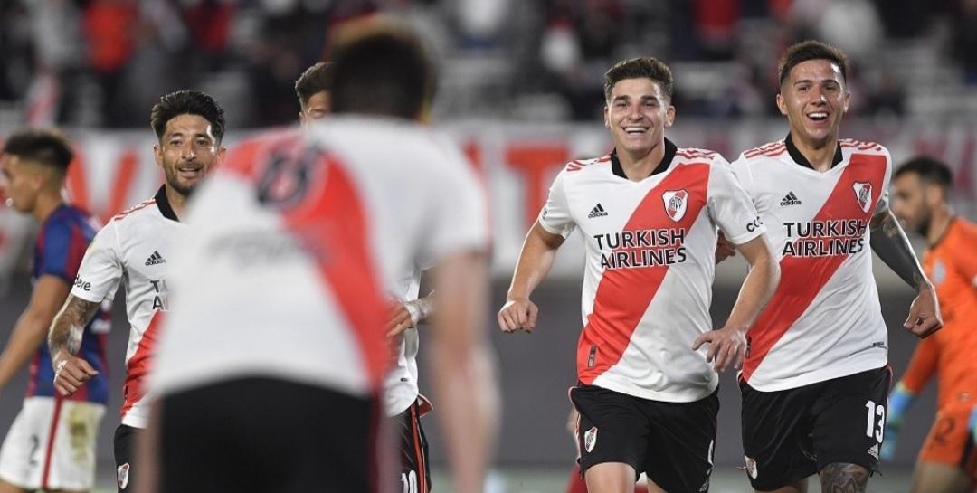 River se lo dio vuelta a San Lorenzo con tres goles