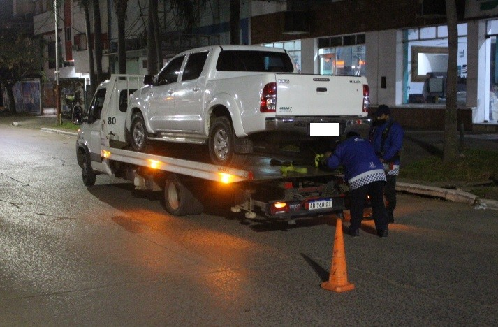 Fin de semana en Resistencia: un detenido y 18 vehículos trasladados al corralón