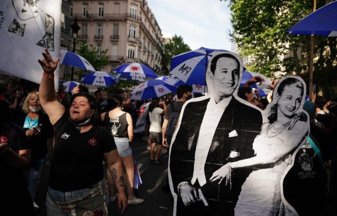 """""""El Presidente está contento con el acto"""", aseguró el Gobierno tras las duras críticas de Bonafini"""