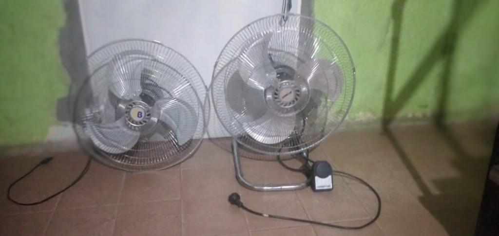 Recuperaron dos ventiladores sustraídos de una iglesia
