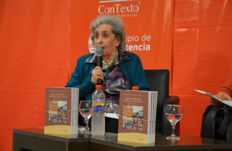 Falleció María Cristina De Pompert, la historiadora chaqueña