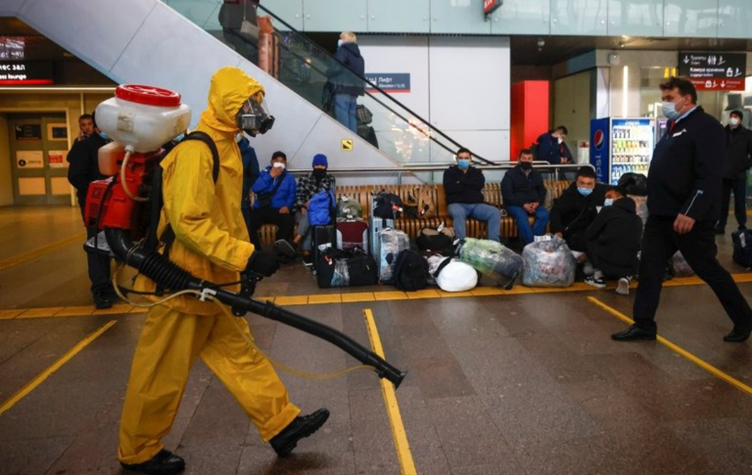 Rusia volvió a marcar un récord diario con más de mil muertes