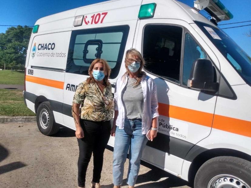 Charata: nuevas ambulancias para fortalecer el sistema sanitario
