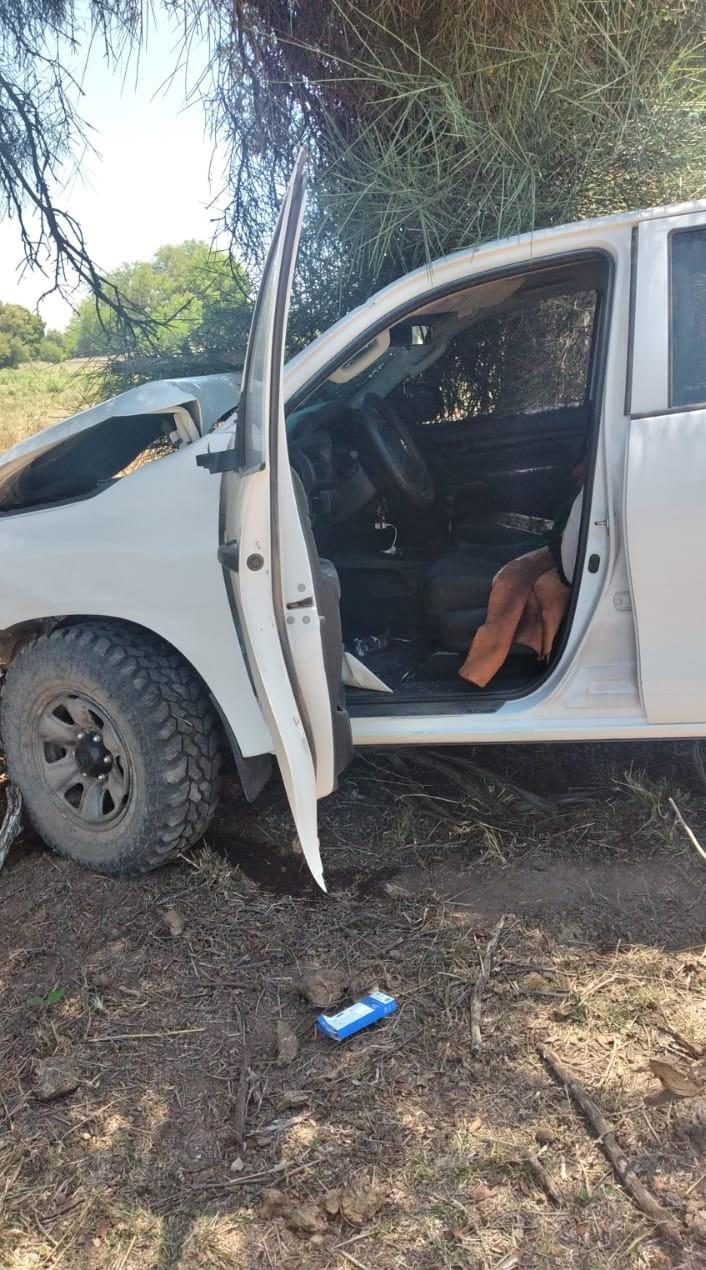 La Tigra - Chaco: robó una camioneta, chocó y huyó