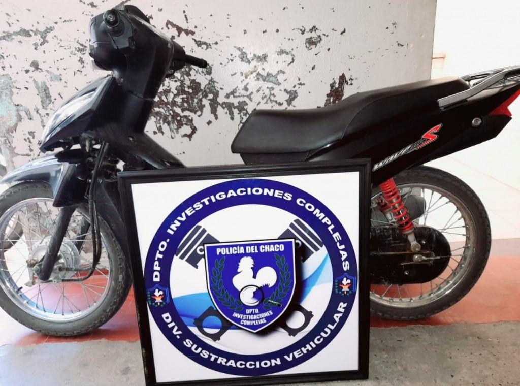 Una moto recuperada y un hombre detenido por violencia de genero