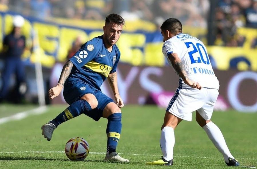 Boca le ganó a Godoy Cruz en la Bombonera