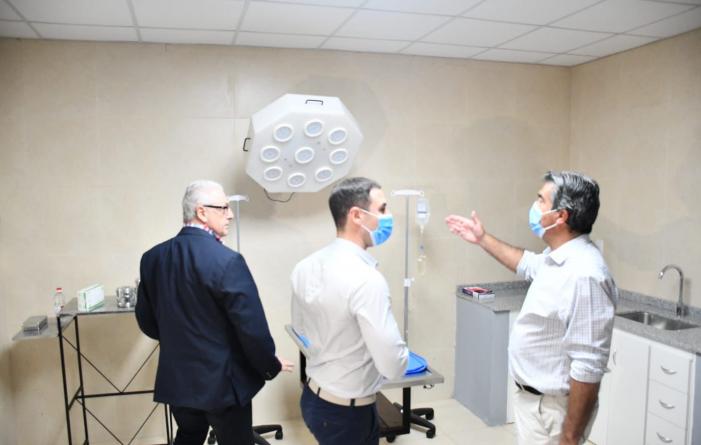 UNCAus inauguró el hospital de pequeños y grandes animales