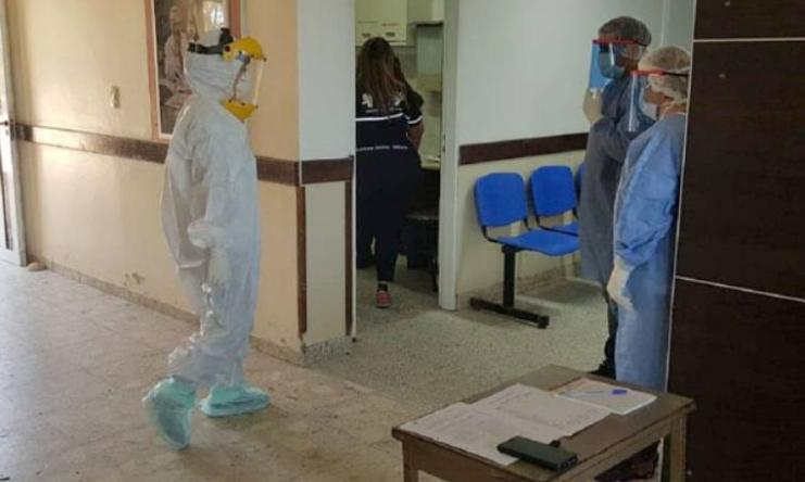 Sáenz Peña: desocupan las camas de Covid en el hospital y siguen bajando los contagios
