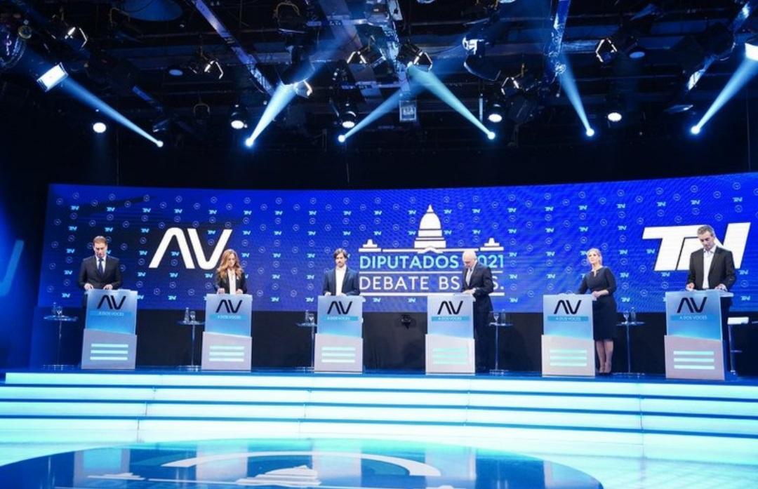 Debate de candidatos a diputados nacionales por la provincia de Buenos Aires