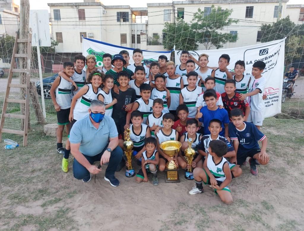 El Deportivo Boli del Barrio UPCP necesita la ayuda de todos