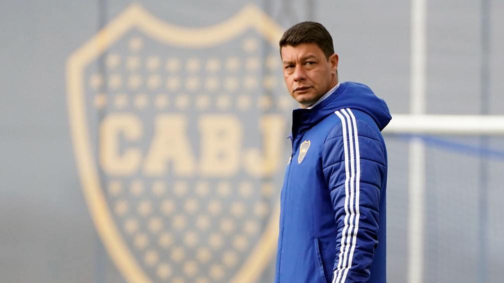En Boca, Rodrigo Montes o Aaron Molinas es la duda de Battaglia