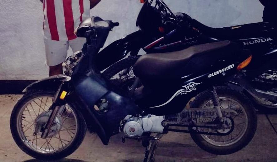 Recuperan una moto robada en la zona Sur