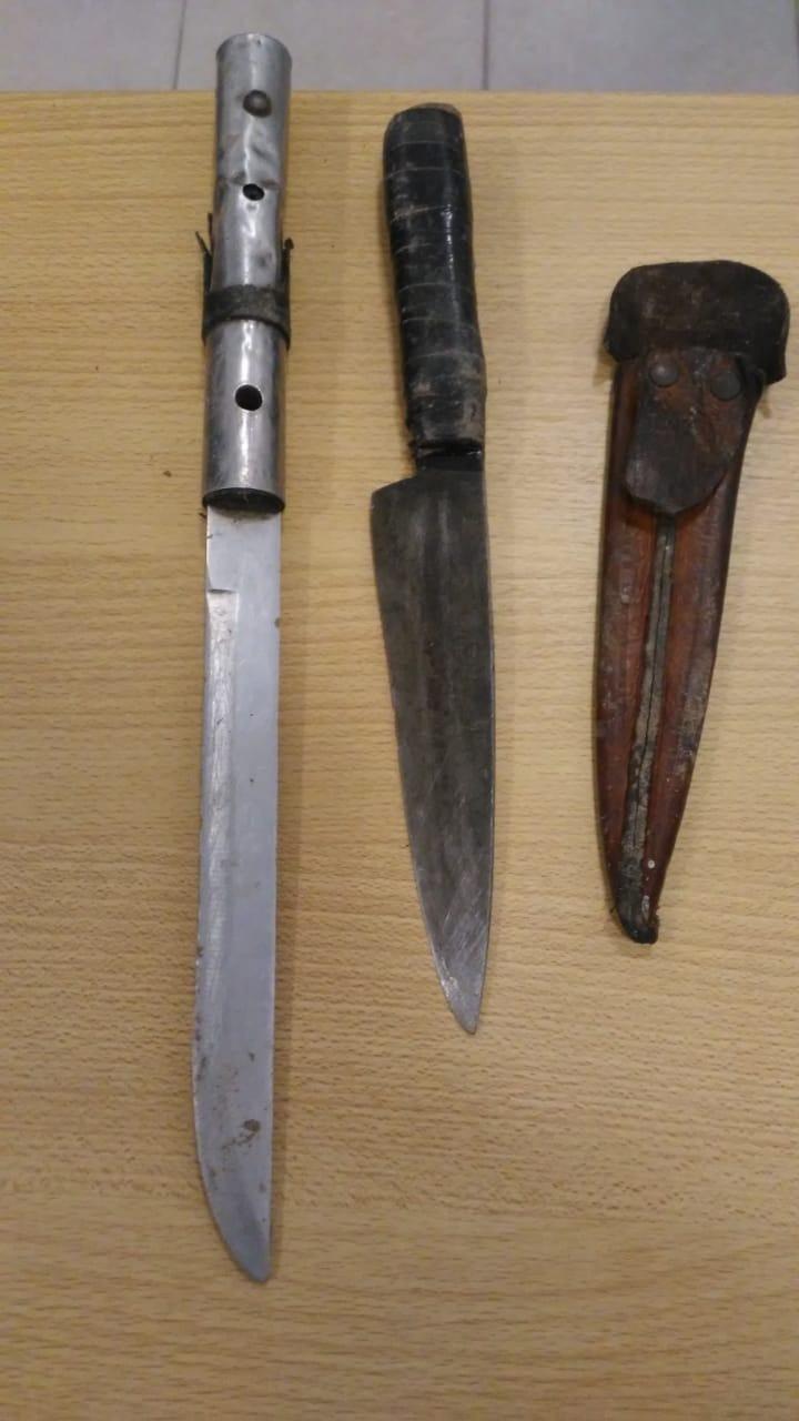 Detienen a un jóven por herir a otro con un cuchillo